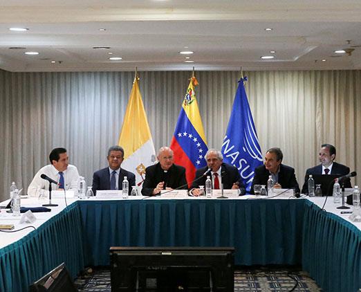 Los acuerdos a los que llegaron el Gobierno y la MUD en la mesa de diálogo