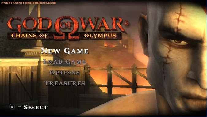 God Of War Chains Of Olympus PPSSPP Android PC