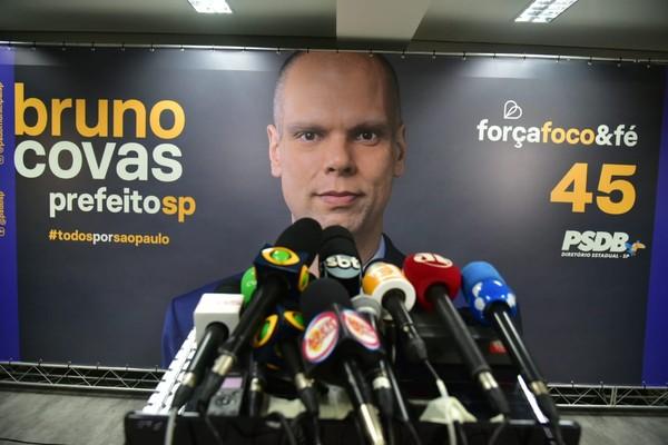 Bruno Covas, do PSDB, é reeleito prefeito de São Paulo