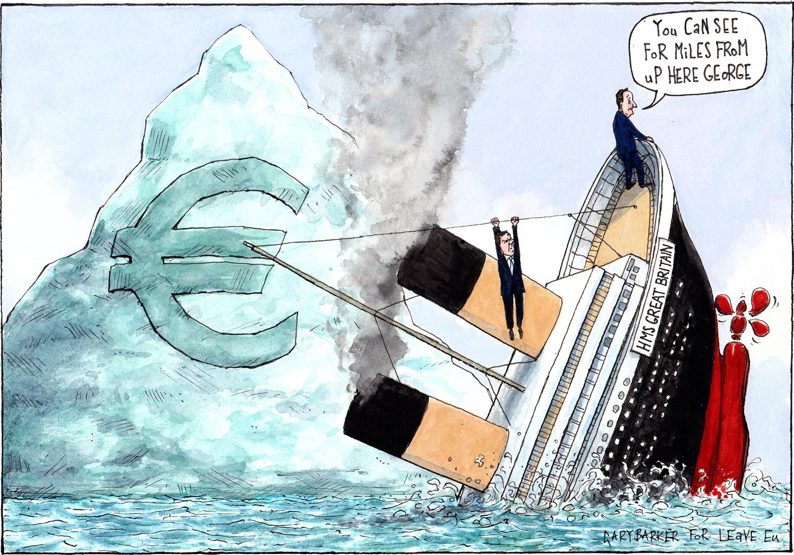Uk Leave Eu Campaign To Uk Pm David Cameron With