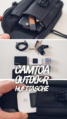 Gear of the Week #GOTW KW 48 | CAMTOA Outdoor Hüfttasche | Gürteltasche zum LAufen | Outdoor-Gürteltasche | Camtoa-Gürteltasche