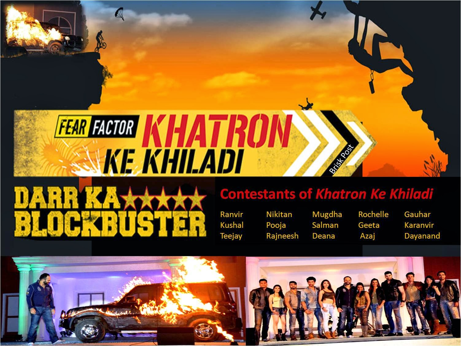 15 Contestants of Khatron Ke Khiladi: Dar Ka Blockbuster with Rohit Shetty