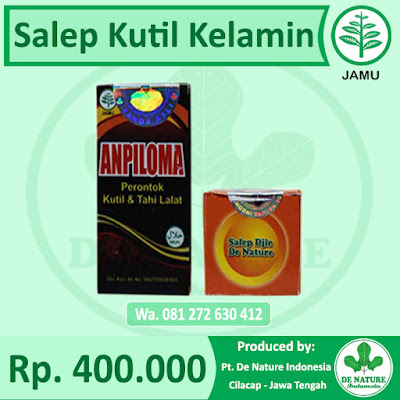 Salep Kutil Kelamin De Nature