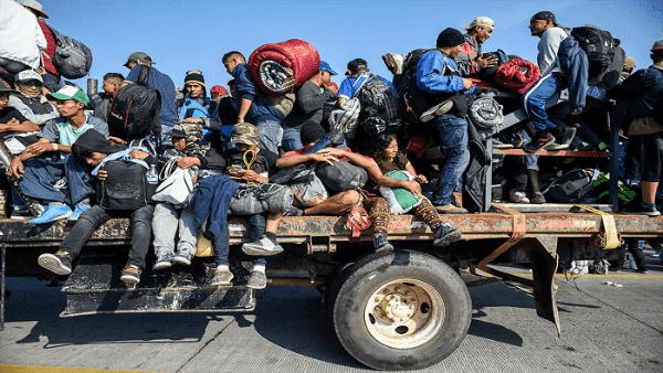 Revelan que EE.UU. vigiló a reporteros que cubrían la caravana migrante