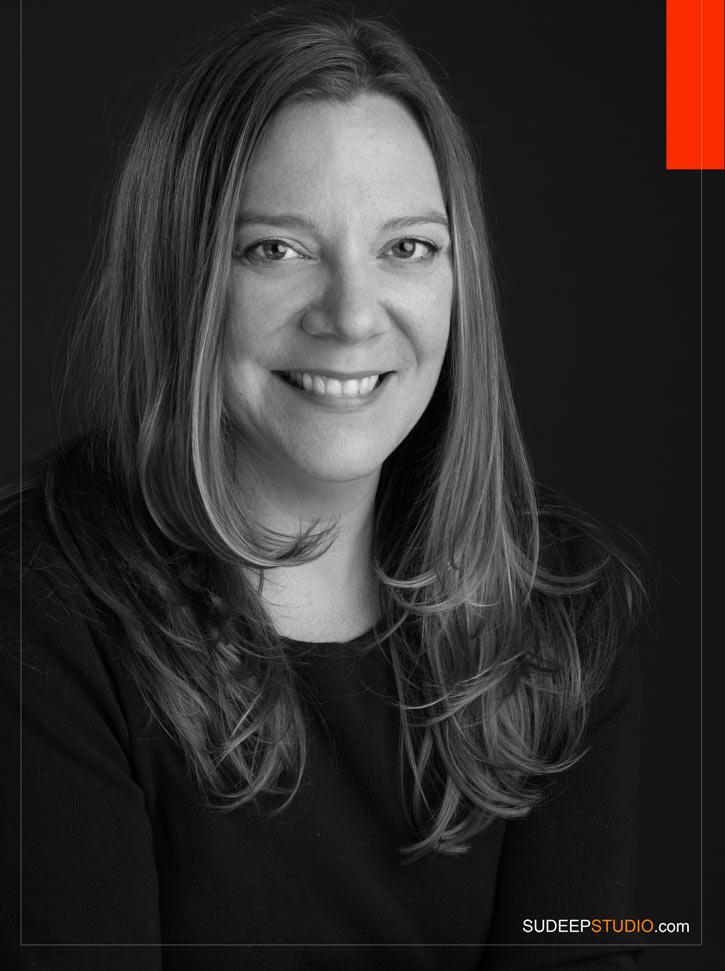 Black and White Professional Business Headshots - SudeepStudio.com Ann Arbor Headshot Photographer