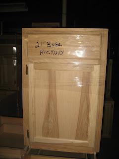 Blue Ridge Surplus: Hickory Unfinished Cabinets