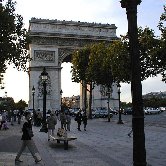 Arc de Triomphe, Paris, France. Photo by Loire Valley Time Travel.