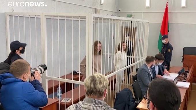 Bebörtönöztek két belarusz újságírót, mert tudósítottak
