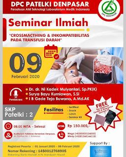 Seminar Ilmiah DPC PATELKI Denpasar 2020