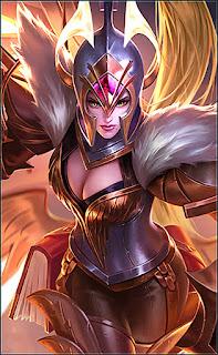 Freya War Angel Heroes Fighter of Skins V2