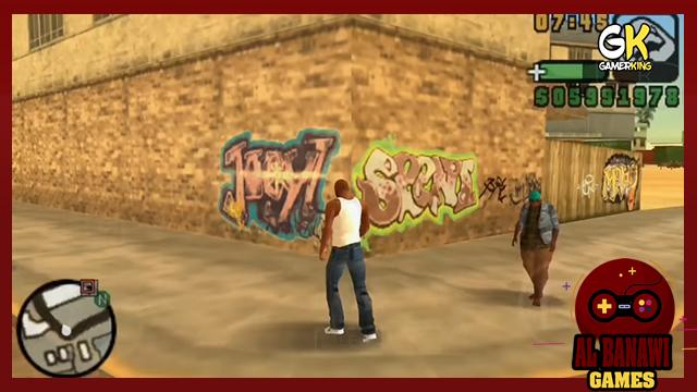 تحميل لعبة جراند 2020 GTA San Andreas PSP للاندرويد PPSSPP بحجم صغير من ميديا فاير