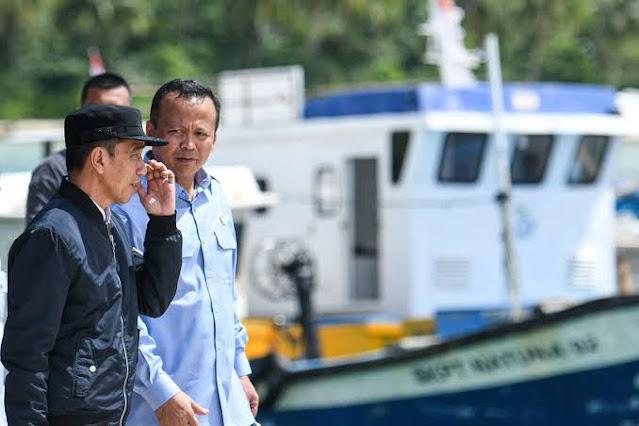 Menteri Edhy Puji Jokowi dan Prabowo: Orang Hebat dan Berkomitmen
