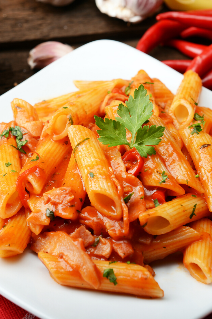 Pink Sauce Pasta #food #recipe one of the best recipes that you can it in any time easy to prepare and don't take too much time #food #sauce #dinner #recipes #pasta
