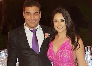 Paulo Costa Girlfriend Tamara Alves