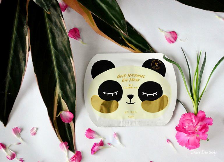 Koreańska maska pod oczy z kwasem hialuronowym Avon K-beauty Gold Hydrogel Eye Mask recenzja