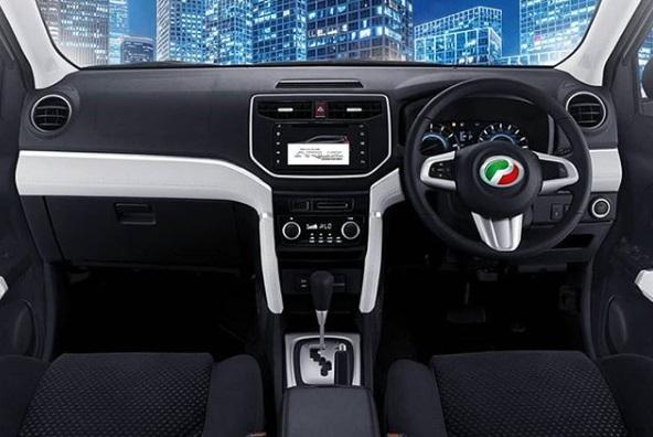Dashbord Perodua Aruz
