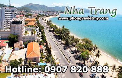 Vé máy bay đi Nha Trang quận Tân Bình