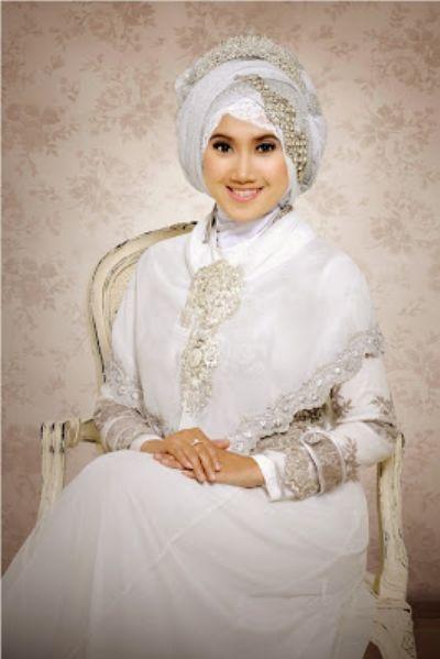 Baju Gamis Untuk Akad Nikah Muslimah