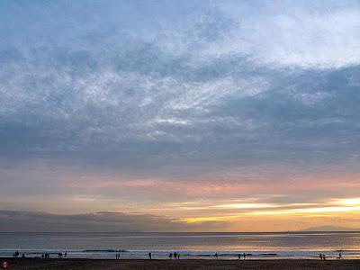 Evening glow: Yuigahama-beach