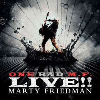 "Ακούστε το ""Mutation Medley"" του Marty Friedman από το album ""One Bad M.F. Live!!"""