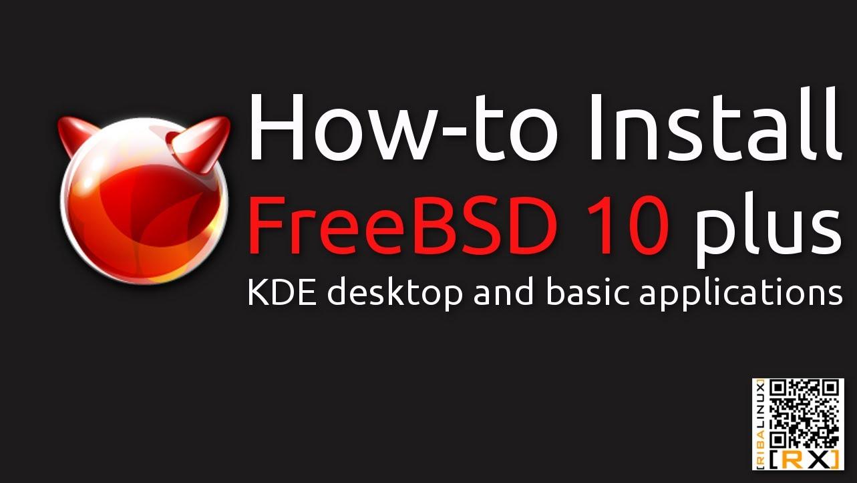 FreeBSD 10 32 / 64 bit Free Download - OneSoftwares