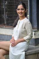 Radhika Cute Young New Actress in White Long Transparent Kurta ~  Exclusive Celebrities Galleries 059.JPG