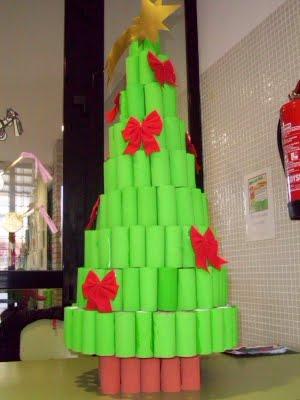 El Blog De Pequeregalo 193 Rbol De Navidad Hecho Con