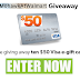 Enter to Win a $50 Visa Card - 10 Winners. Limit One Entry Per Person, Ends 5/8/20 - NEW GIVEAWAY!