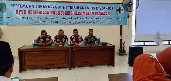 Babinsa Hadiri Mini Lokakarya Lintas Sektor UPT Puskesmas Pandaan