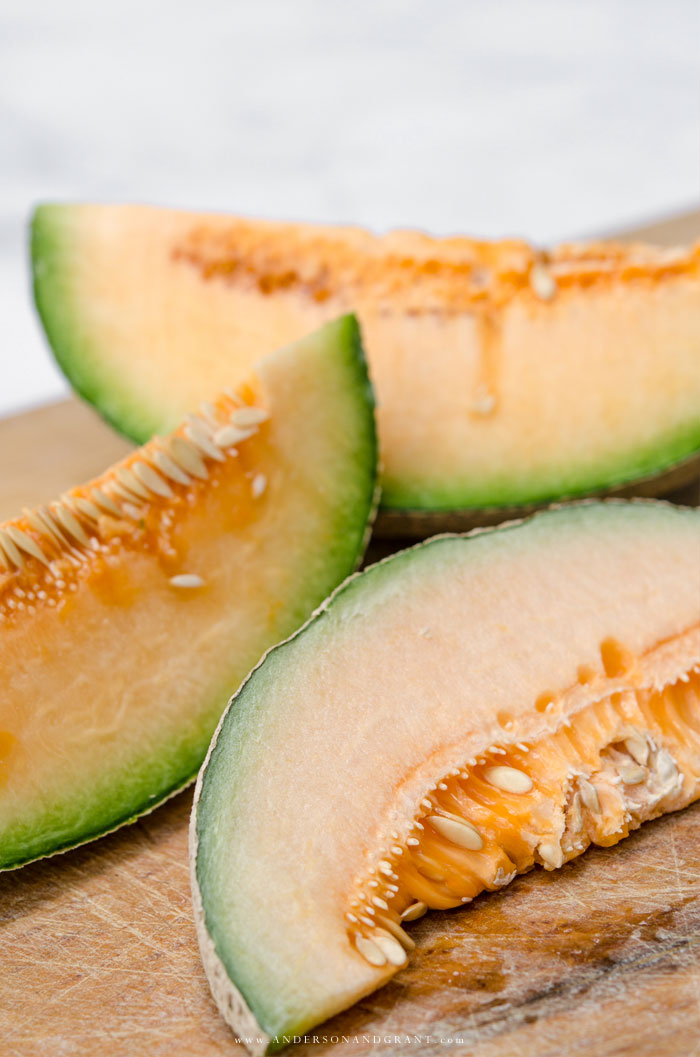Find out what you should look and smell for when you are purchasing a watermelon, cantaloupe or honeydew melon this summer.  |  www.andersonandgrant.com