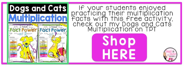 https://www.teacherspayteachers.com/Product/Multiplication-Coloring-Worksheet-4794464?utm_source=countontricia.com&utm_campaign=Dogs%20and%20Cats%20Multiplication%20