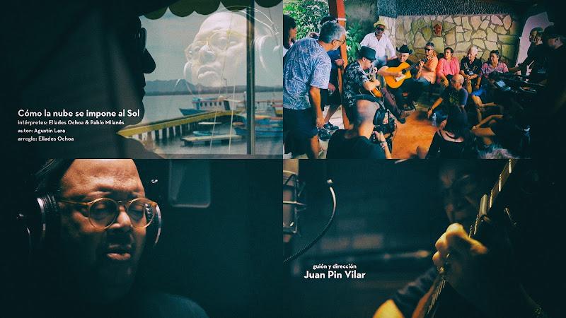 Eliades Ochoa & Pablo Milanés - ¨Como la nube se impone al Sol¨ - Videoclip - Director Juan Pin Vilar - Autor: Agustín Lara - Arreglo: Eliades Ochoa. Portal Del Vídeo Clip Cubano