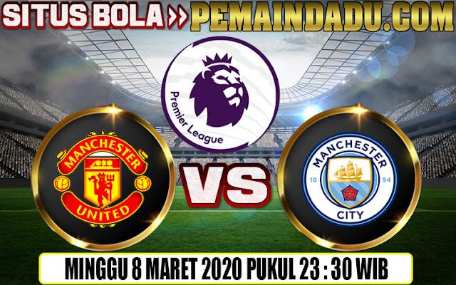 Prediksi Big Match Liga Inggris Antara Man United Vs Man City