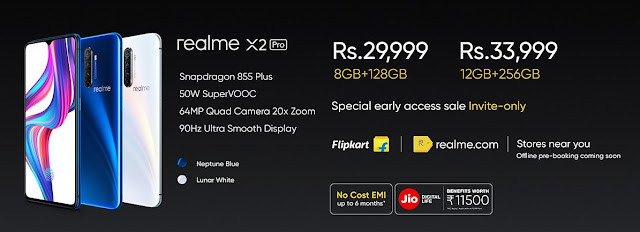 Realme X2 Pro with SuperVOOC Flash Charging innovation launched in India