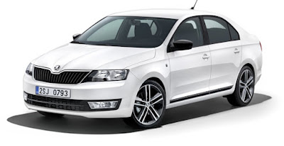 New 2016 Skoda Rapid Facelift wallpaper