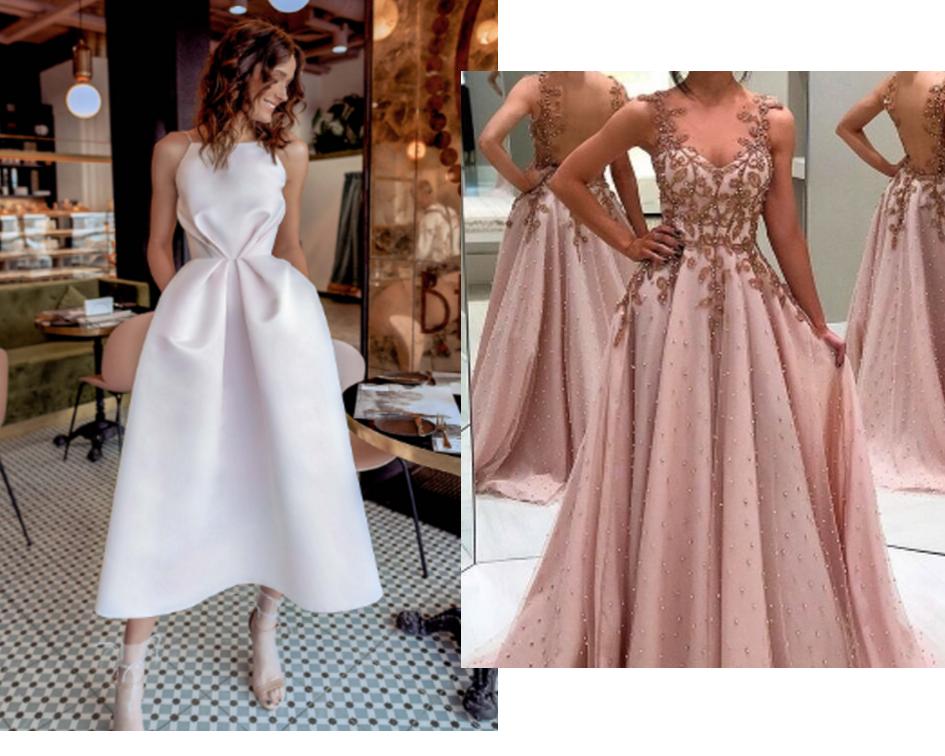 O vestido de formatura ideal para cada tipo de corpo