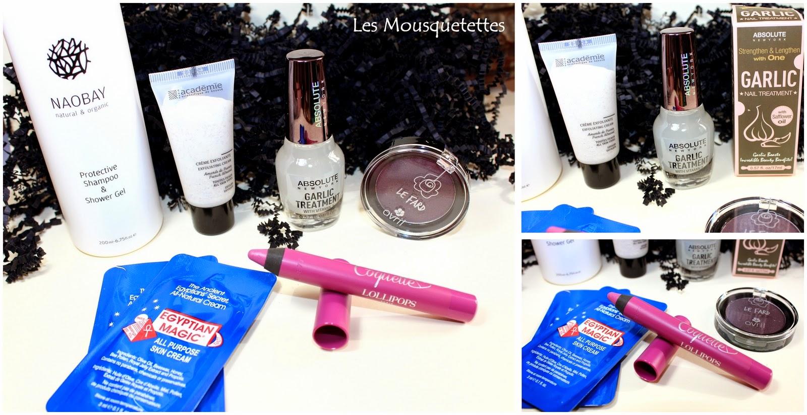 Glossybox mars 2015 - Les Mousquetettes©