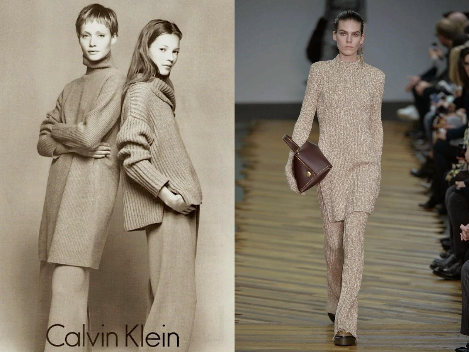 INTO THE FASHION: INSPIRATION Calvin Klein FW 1996