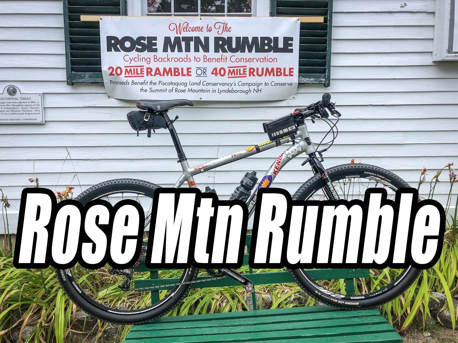 Rose Mountain Rumble