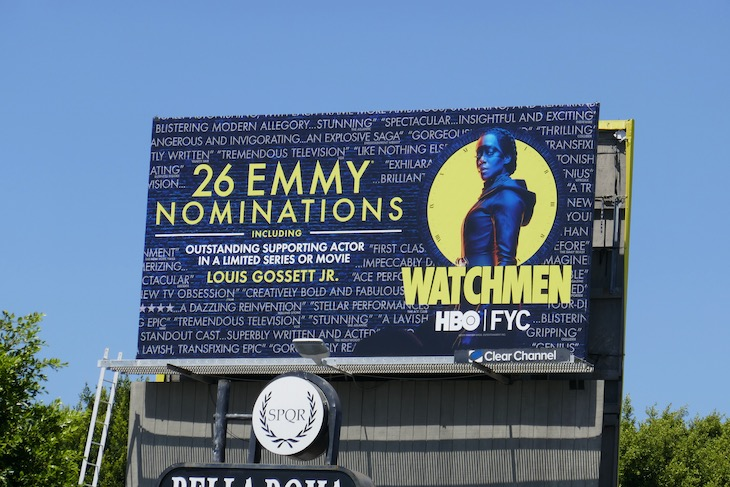 Watchmen 26 Emmy nominations billboard