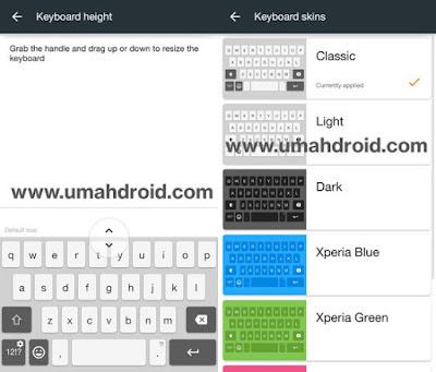 Stock Sony Xperia Keyboard Untuk Semua Android