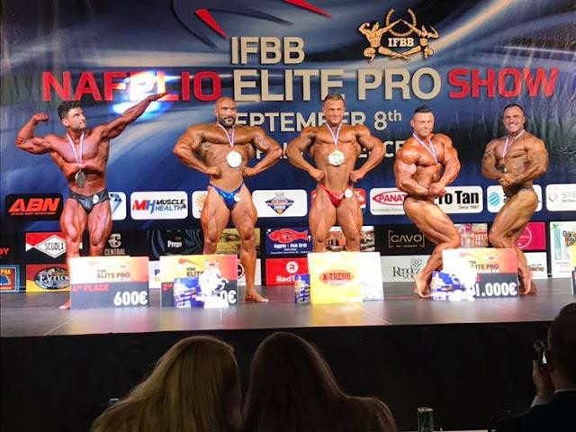 Τα τέρατα της διεθνούς σκηνής του bodybuilding 23 - 25 Μαΐου στο Ναύπλιο