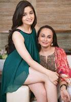 Alia Bhatt dengan ibunya Soni Razdan