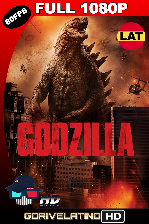 Godzilla (2014) BDRip 1080p x265 10Bits (60 FPS) Latino-Ingles MKV
