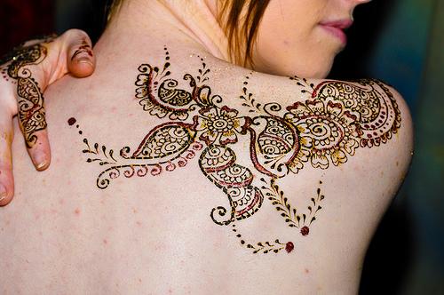 Permanent Henna Tattoo: The Tattoo World : Henna Tattoos