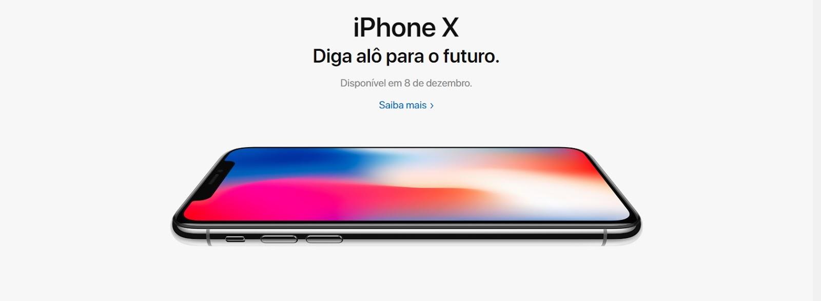 iPhone X no Brasil