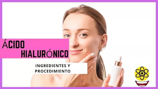 ▷ Cosmédica ácido hialurónico, así se hace el ácido hialurónico en crema