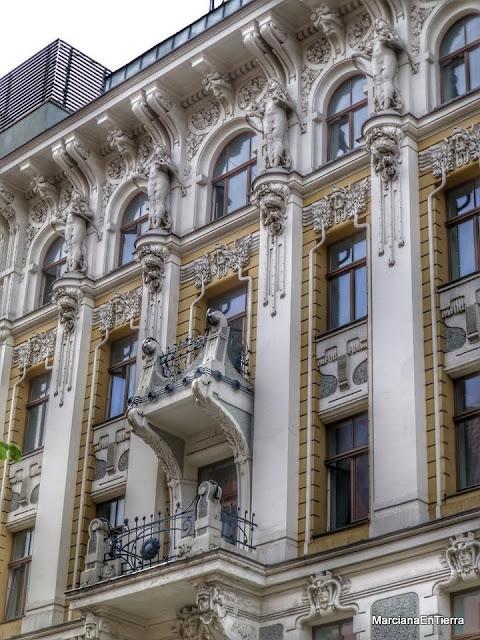Edificio de la calle Gertrudes nº 10 y 12, Riga