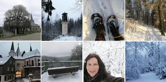 Collage Instagram-Fotos Januar 2021