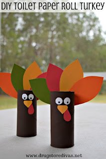 Table-top Turkeys! One of my favorites this week at Encouraging Hearts and Home, link-up your creations, right here at Scratch Made Food! & DIY Homemade Household!